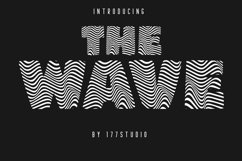 The Wave Font Product Image 1