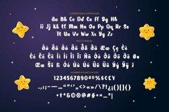Web Font Shine Stars Font Product Image 2