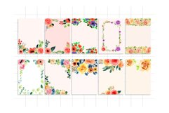 Floral Invitation Backgrounds Vol.2 Product Image 4