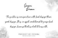 Ocean Dream   Brush Script Font Product Image 1