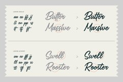 Saltery Brush Font Product Image 2