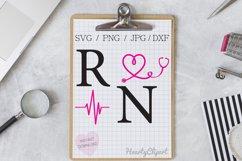 registered nurse svg , cutting files Product Image 1