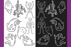Halloween CLIPART, Fall clipart, Pumpkin clipart, PNG files Product Image 5