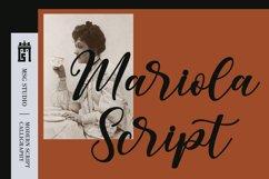 Mariola Script Product Image 1