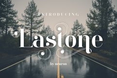 LastOne Display Font Product Image 3