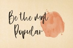 Web Font Topmost - Handwritten Script font Product Image 4