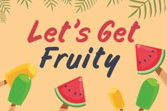 Funny Handwritten Font - Fruity Stories Product Image 2