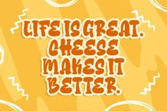 Cheese Sugar a Delicious Font Product Image 2