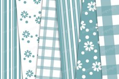 Gingham, striped and floral pattern Product Image 2