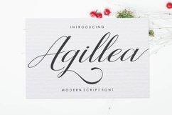 Agillea Script Product Image 1