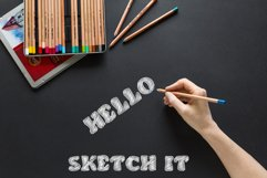 Doodle Classic - Sketch Font Product Image 5