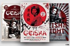 Geisha Party Flyer Bundle V2 Product Image 2