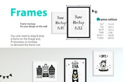 KIDS WALL & FRAMES Mockup Bundle - 4 Product Image 5