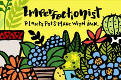 Imperfectionist - Inked Plant pots Product Image 1