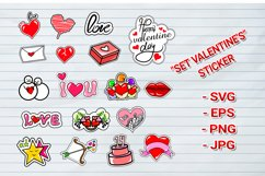 bundles set valentines Day stickers Product Image 1