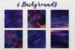 Violet and Navy Watercolor Collection Product Image 3