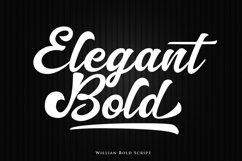 Willian Elegant Bold Script Product Image 2