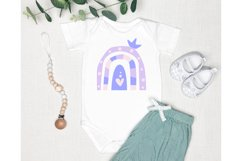 Rainbow Baby SVG. Baby Bodysuit SVG. Baby SVG. Product Image 4