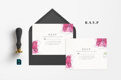 Abstract Flower Wedding Suite Product Image 4