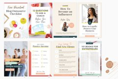 Pinterest Pin Template for Canva Product Image 4