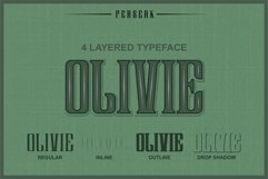 Perserk A Vintage Serif typeface Product Image 5