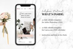 Ladyboss Pinterest Templates for Canva and Photoshop Product Image 4