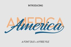 America Font Duo Product Image 2
