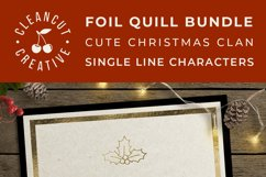Foil Quill Edition - Cute Christmas Clan - family figures Product Image 5