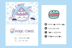 Homemade Bakery Handwritten- cute kid font Kawaii style! Product Image 4