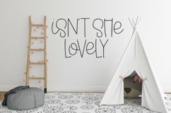 Web Font Childish Things - A Cute Hand-Lettered Font Product Image 4