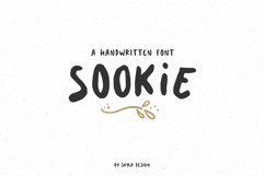 Cute handwritten font, Sookie Product Image 1