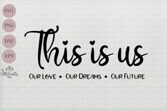 This is us SVG, PNG, Craft file Product Image 1