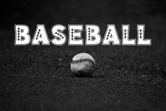 Baseball Slab Outline Font Product Image 3