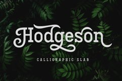 Hodgeson Product Image 1