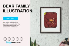 Bear Family Vector Illustration Product Image 5
