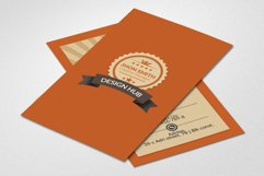 Retro Vintage Business Card  Product Image 2