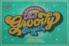 Groovy - Retro Font Product Image 1