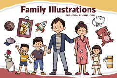 Family Illustrations Product Image 1