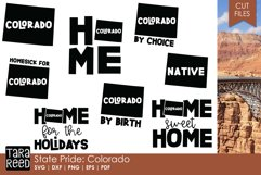 Colorado SVG and Cut Files for Crafters Product Image 1