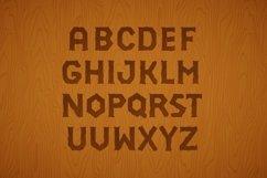3D Font Set. Gold, wood, silver Product Image 2