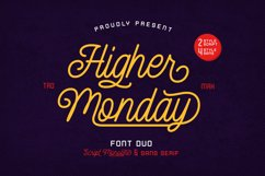 Higher Monday Product Image 1