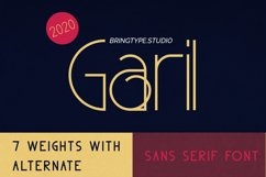 Garil - SEVEN weights With Alternate!! Product Image 1