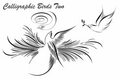 Calligraphic Birds Two Product Image 4