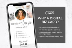 Digital Business Card Template | Canva Template Product Image 3