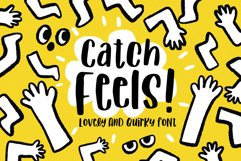 Catch Feels - Lovely and Quirky font Product Image 1