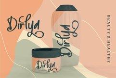 Web Font Hallish - A Handwritten Font Product Image 3