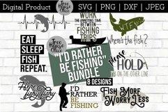 Fishing Bundle Father's Day Fisherman Angler SVG PNG JPEG Product Image 1