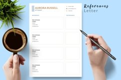 Legal Resume CV Template for Word & Pages Aurora Russell Product Image 6