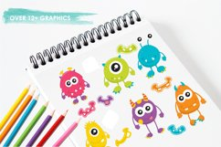 Monster Fun graphics and illustrations Product Image 3