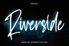 Riverside - Monoline Handwritten Font Product Image 1